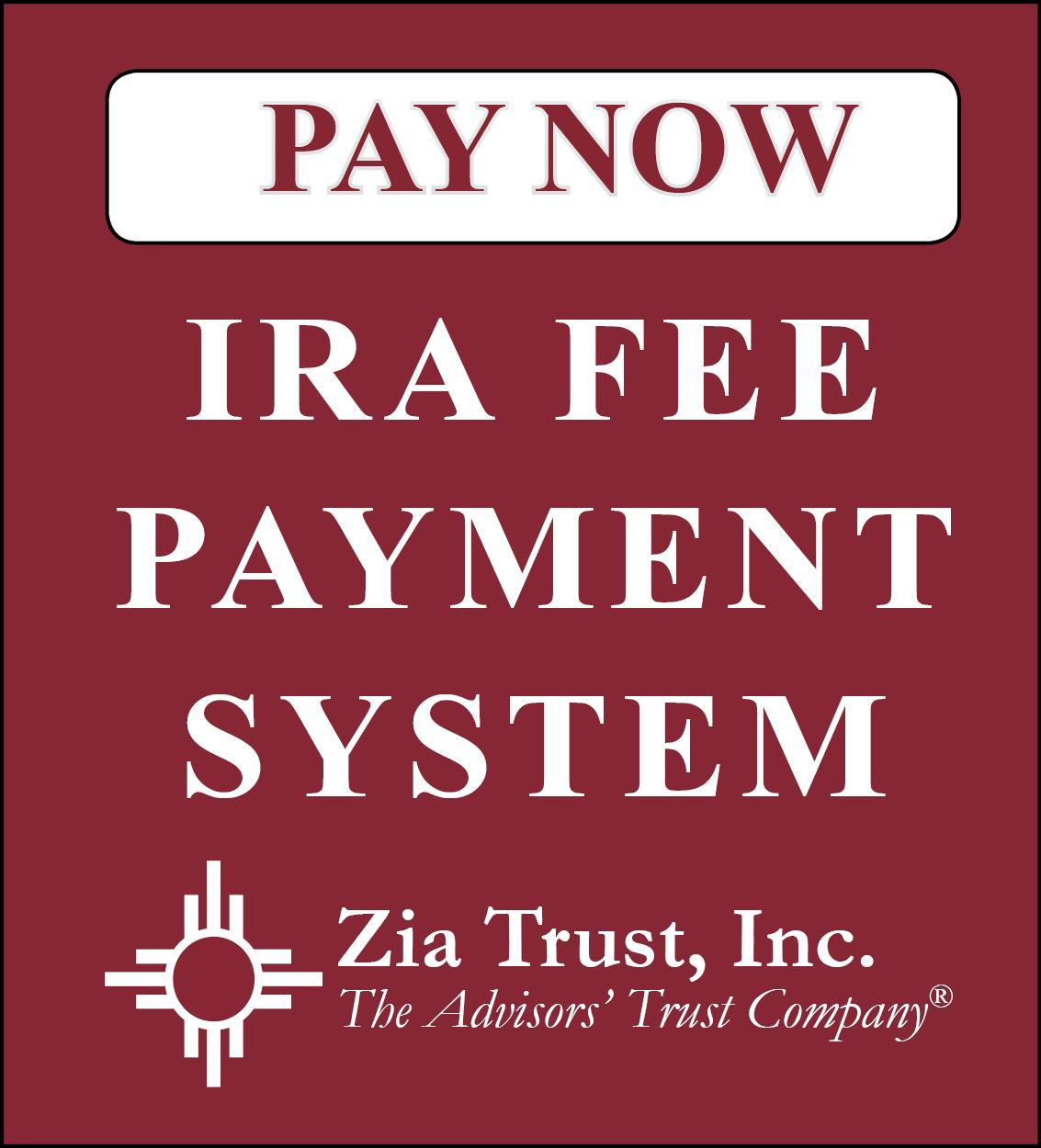 Self-Directed IRAs - Zia Trust Inc